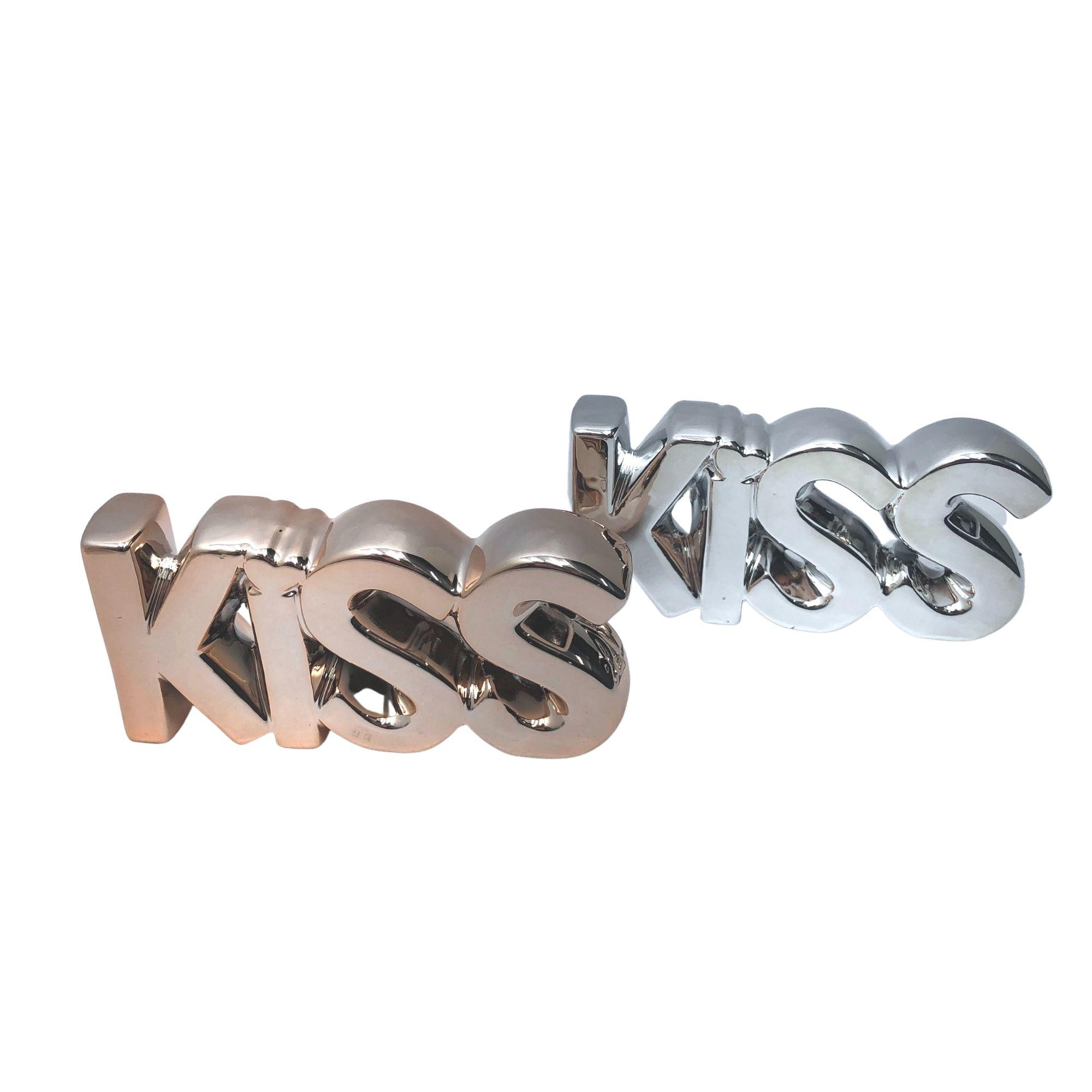 ENFEITE CERAMICA KISS HD52967