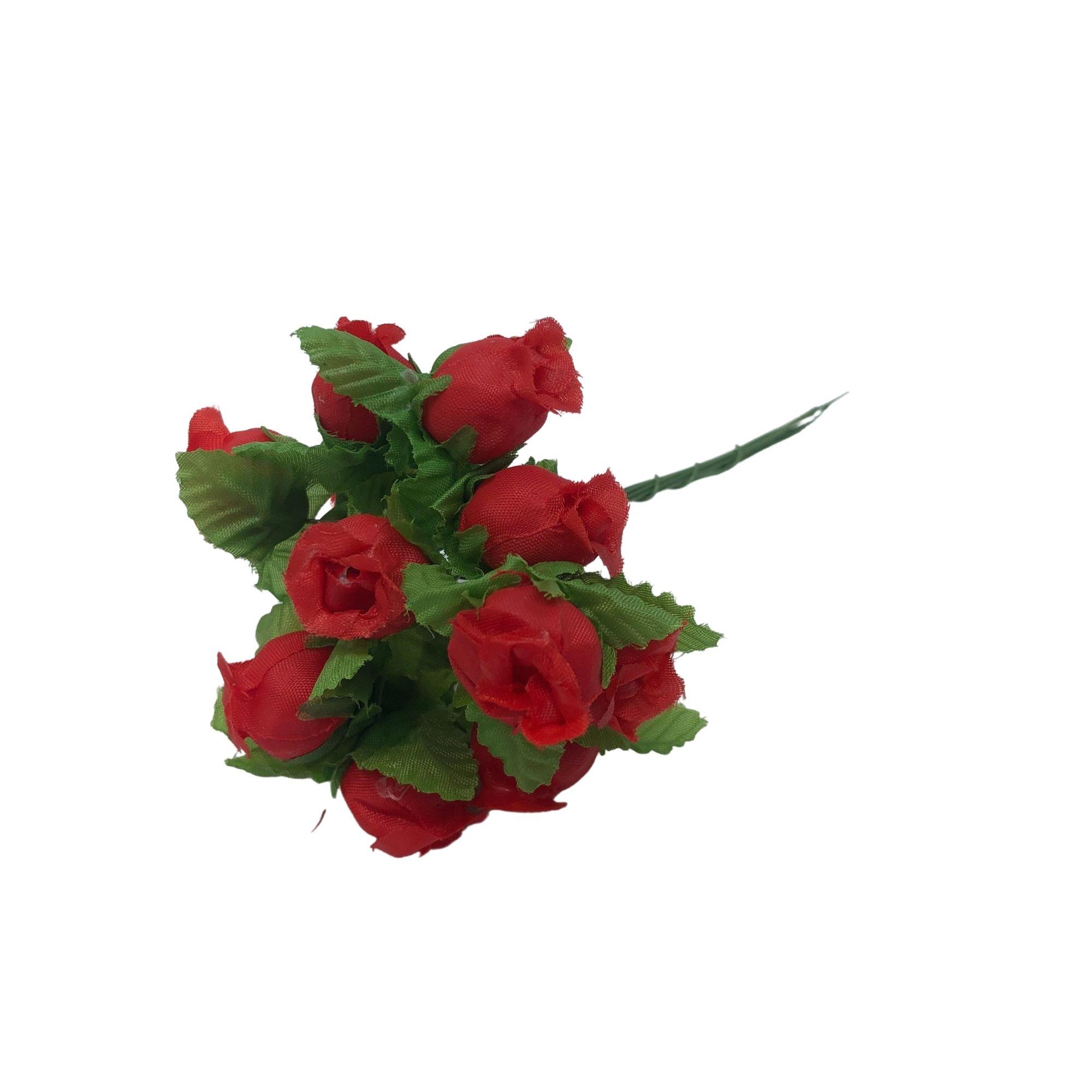PACOTE MINI ROSA VERMELHO X144  EA-0001