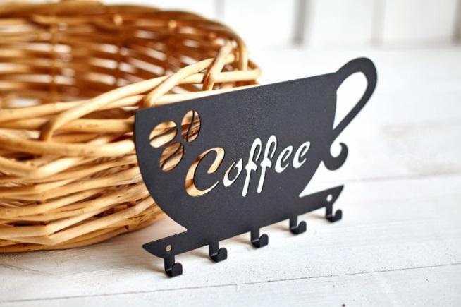Porta-pano de prato cantinho do café preto aço