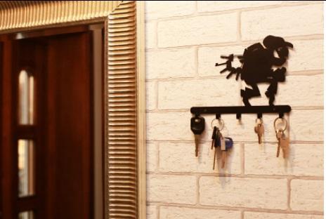 Porta chaves de parede
