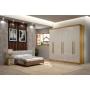 Dormitório Casal Completo Atlanta - Bianchi Móveis