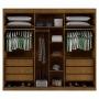 Dormitório Casal Completo Creta - Bianchi Móveis