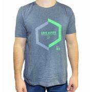 Camiseta Cinza e Verde Country Love Horse Original!