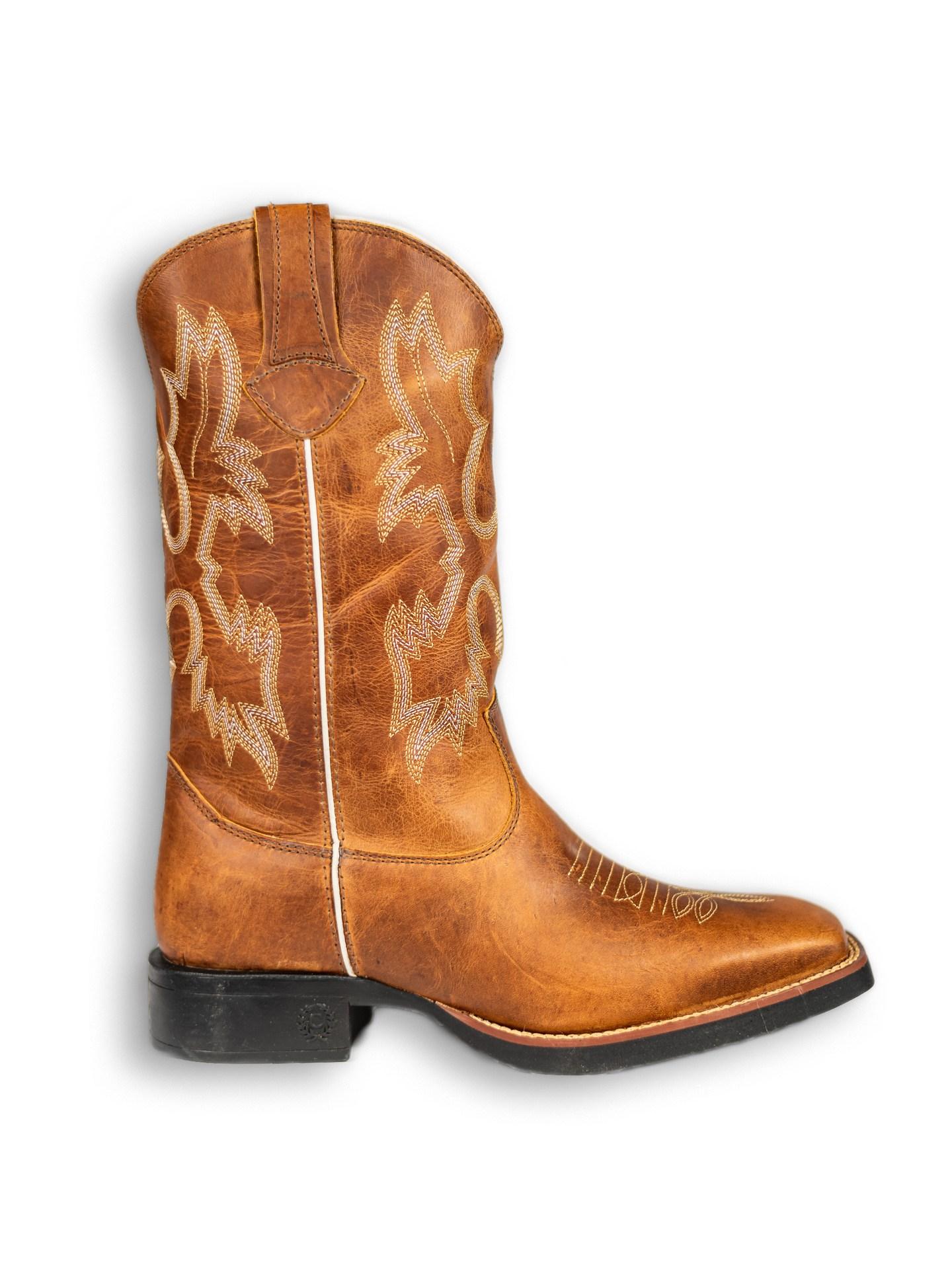 Bota Texana Country Classic Original Montana Mostarda