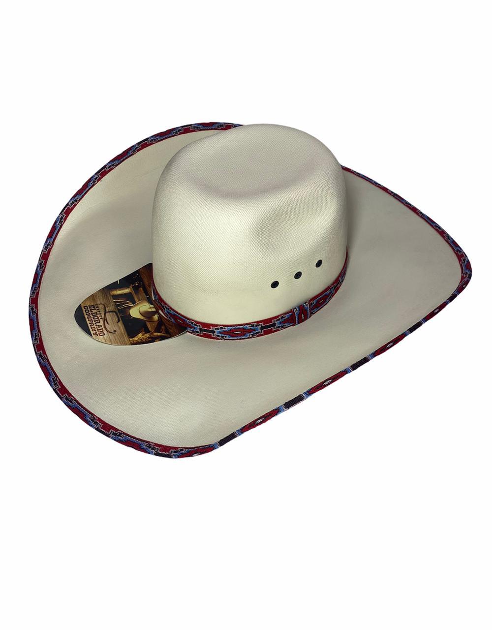 Chapéu Country El Dorado ABA 13 Branco - Original!