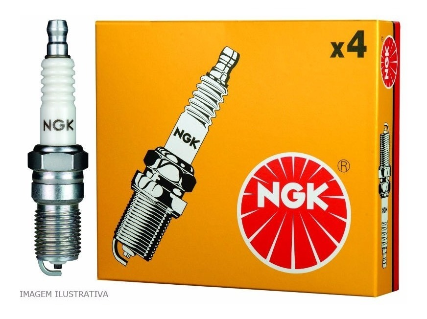 Jogo Velas de Ignição VW Fox NGK BKR7ESB