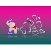 Cortador Circo - Elefante Modular Mod 5 cm