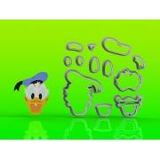 Cortador Pato Donald Modular