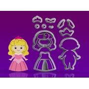 Cortador Princesa Aurora Modular