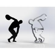 Cortador Símbolo Educação Física