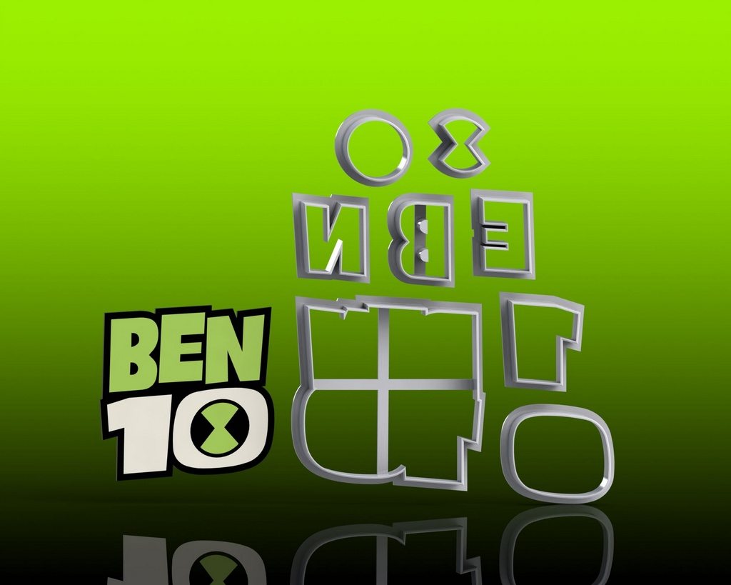 Cortador Ben 10 - Logo Modular