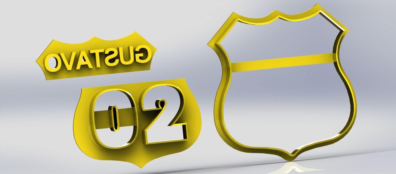 Cortador Carros - Rota 66 - Personalizado