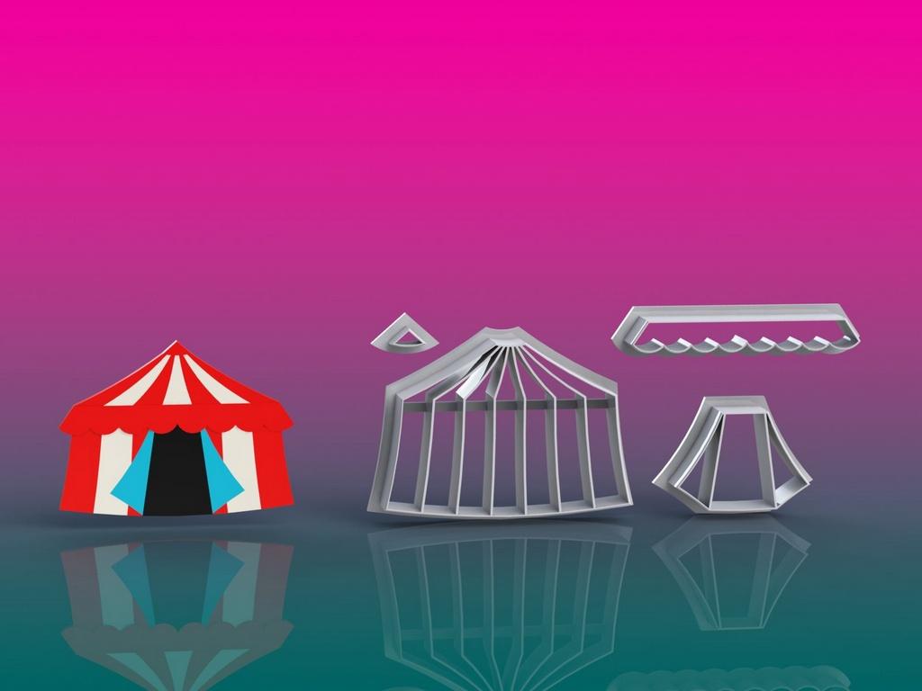 Cortador Circo - Tenda Modular