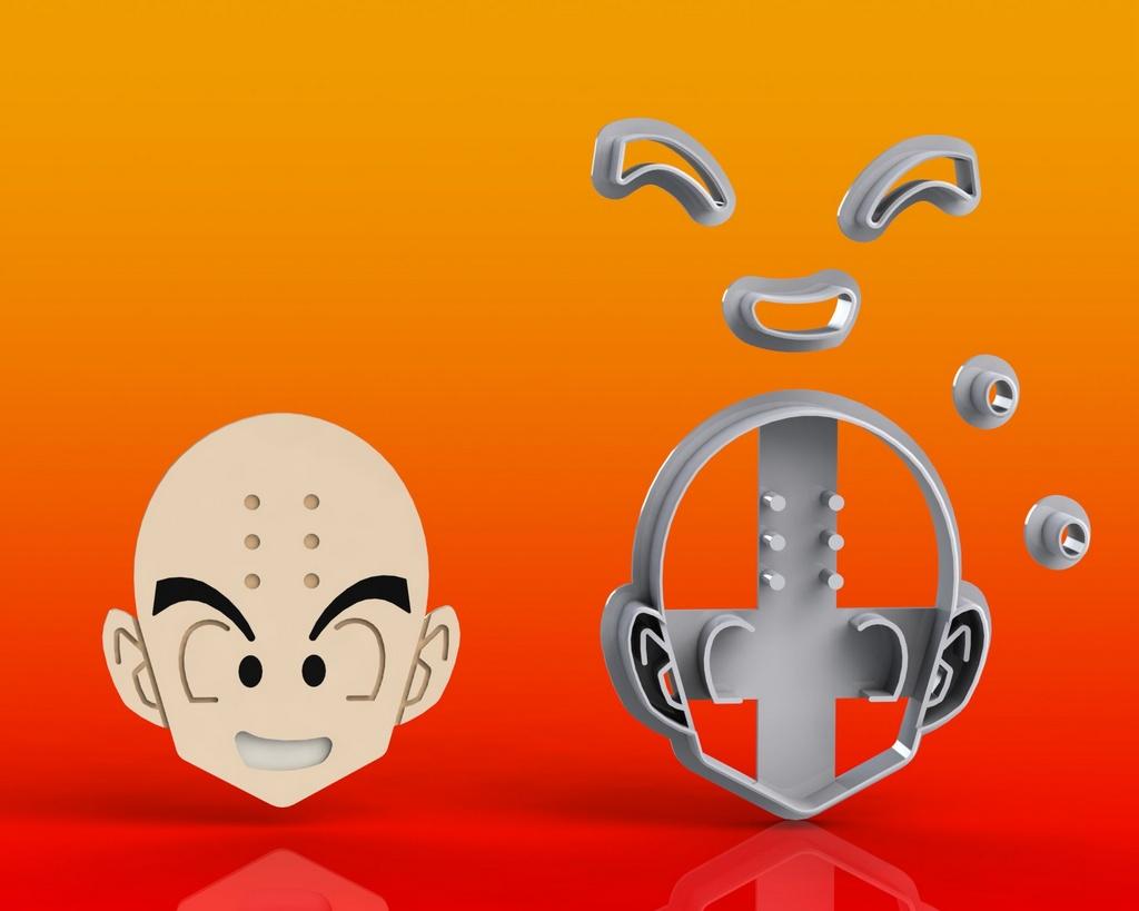 Cortador Dragon Ball -  Kuririn Modular