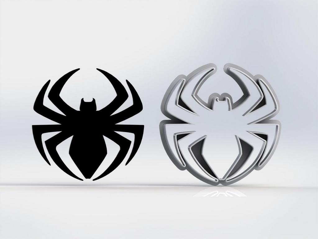 Cortador Homem Aranha - Símbolo Aranha