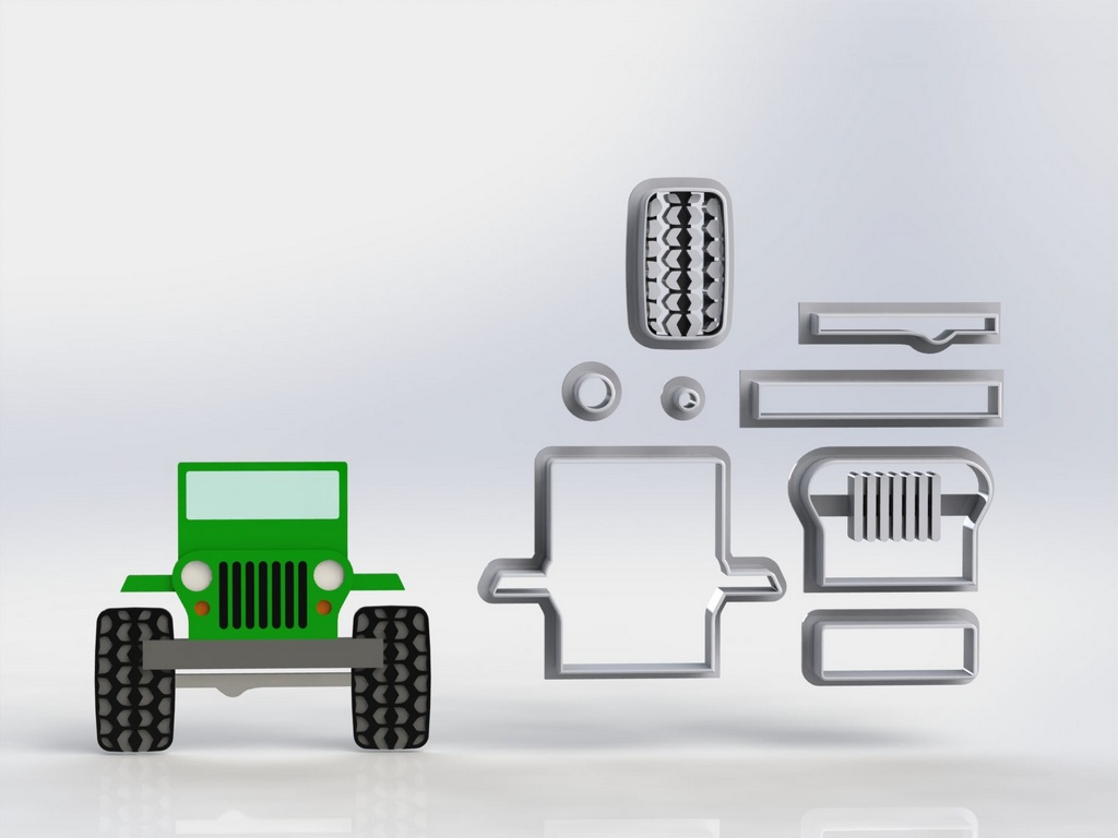 Cortador Jeep Modular