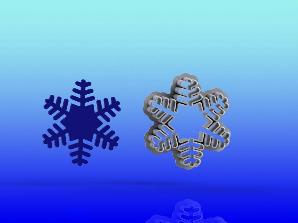 Cortador Kit Frozen - Ana e Elsa Olaf   Modulares + Floco