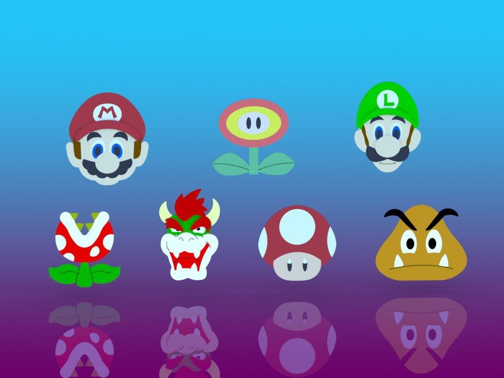 Cortador Kit Mario - 07 Personagens Modulares