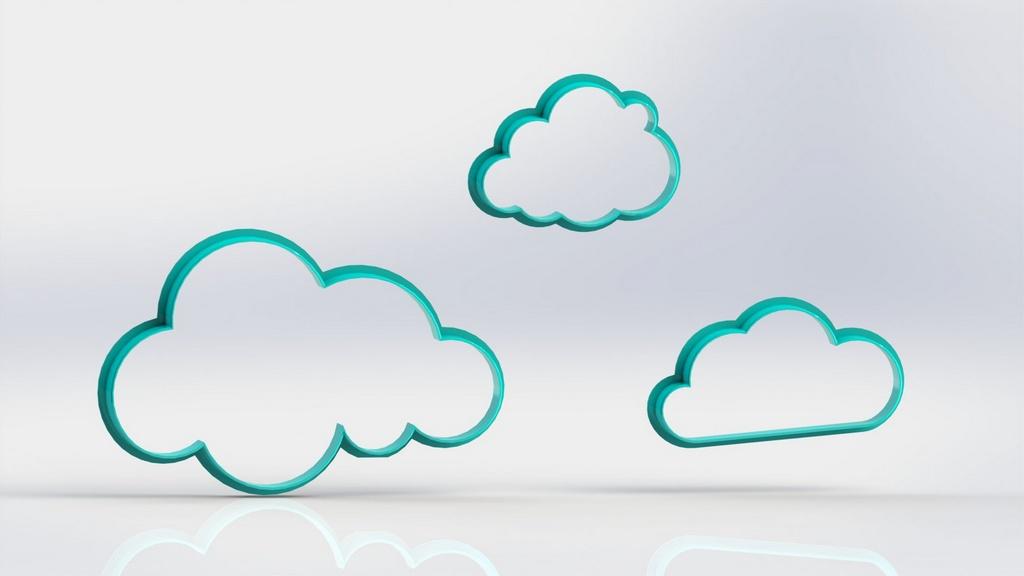 Cortador Kit Nuvens 3 Modelos