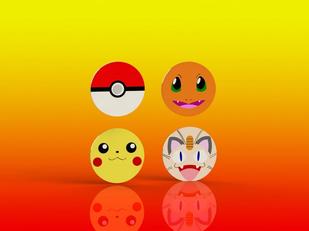 Cortador Kit Pokemon 4 Modelos Modulares