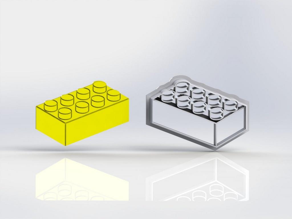 Cortador Lego - Bloco