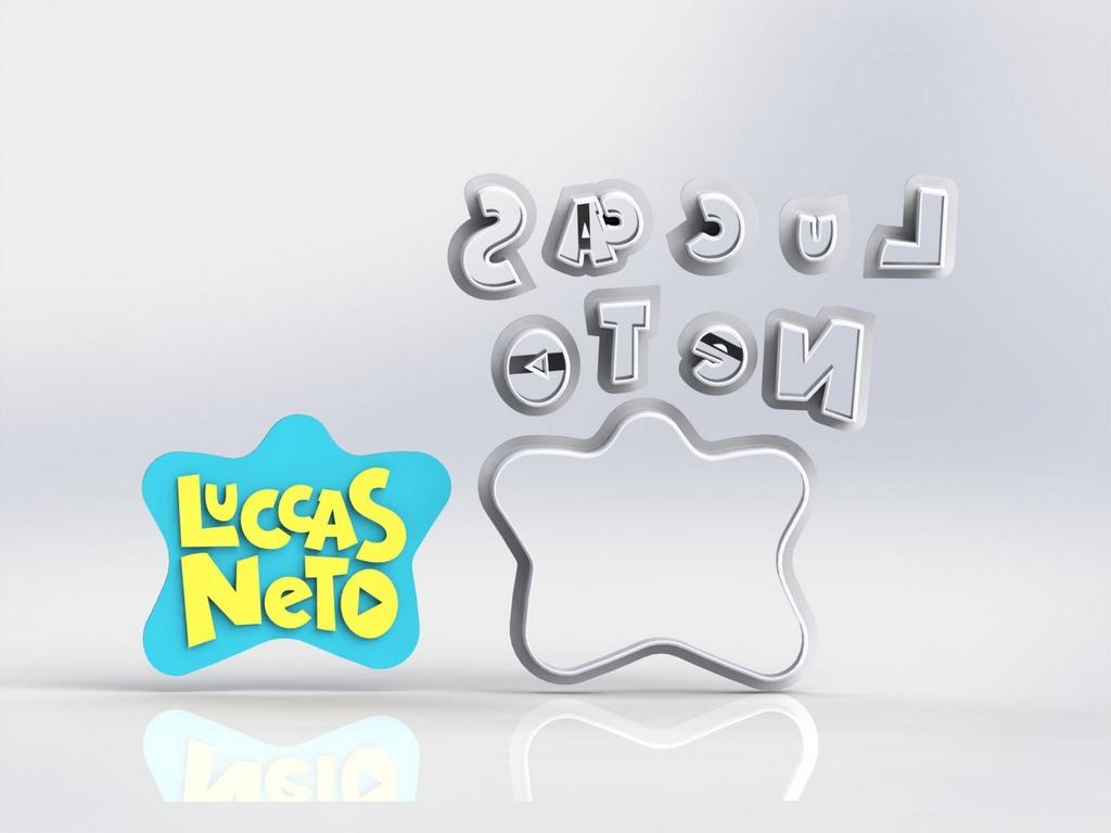 Cortador Lucas Neto - Logo Modular