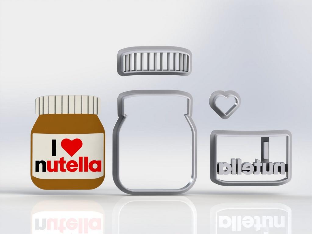 Cortador Lucas Neto - Pote Nutella Modular