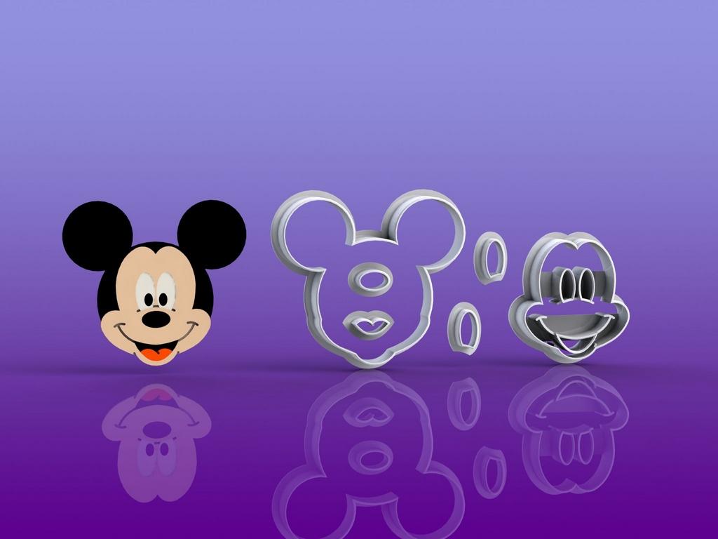 Cortador Mickey Modular