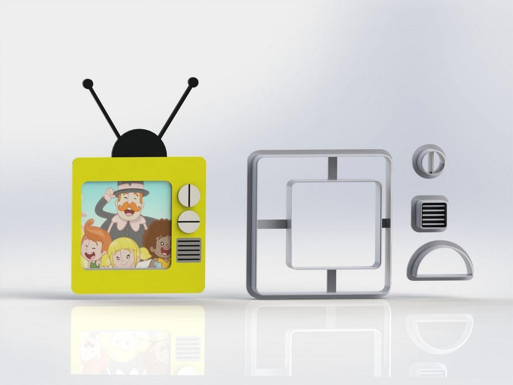 Cortador Mundo Bita - TV Modular