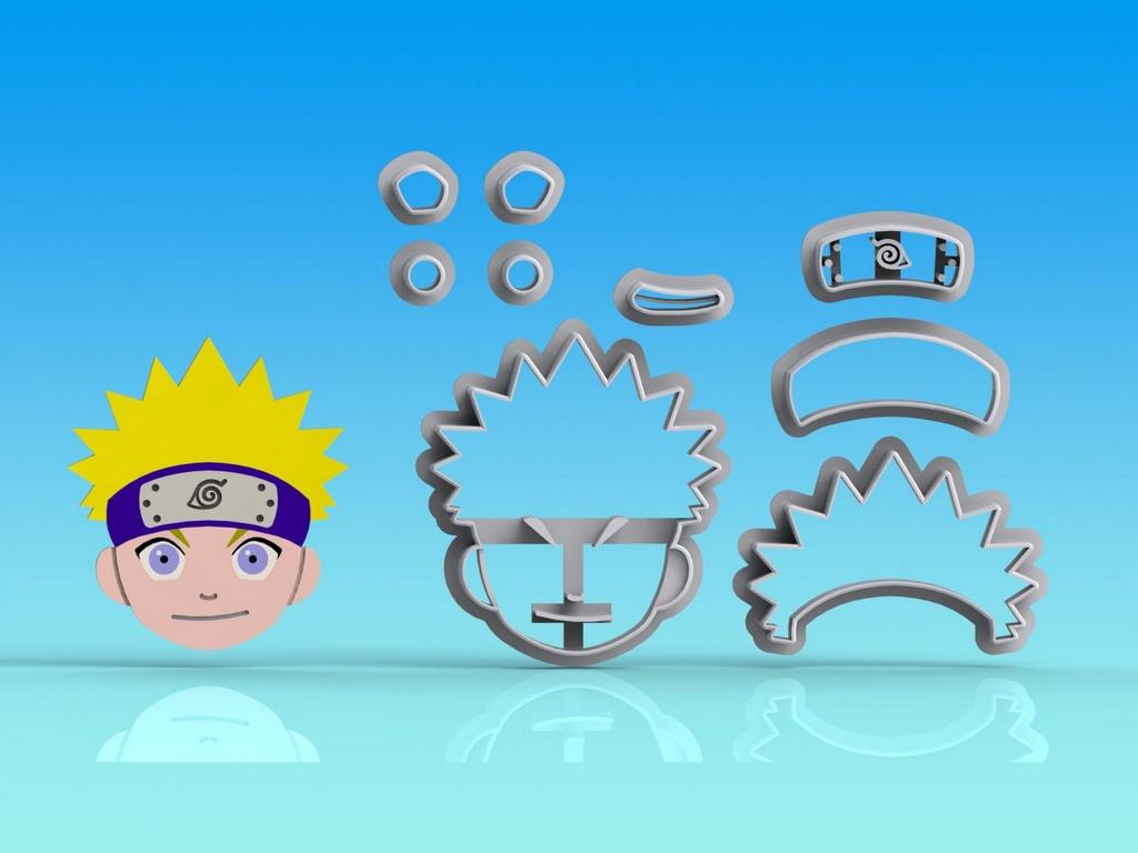 Cortador Naruto - Modular