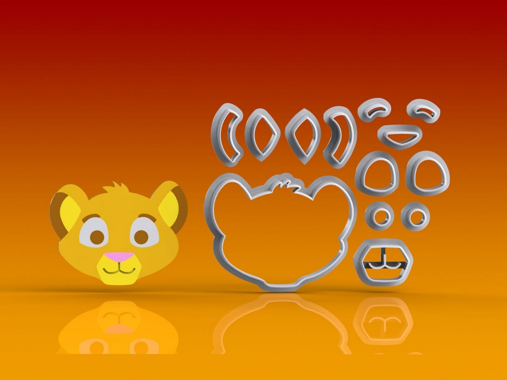 Cortador Rei Leão - Simba Modular