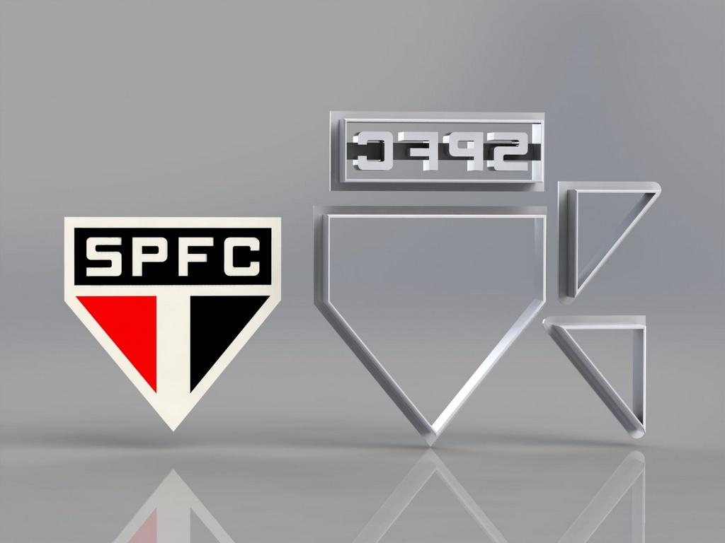 Cortador São Paulo Futebol Clube Modular