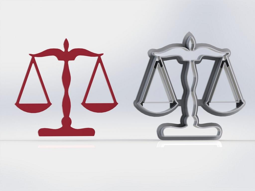 Cortador Símbolo Direito