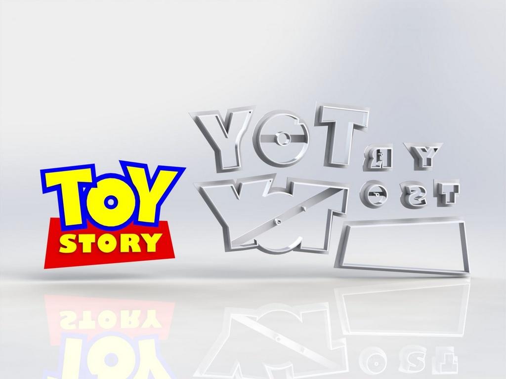 Cortador Toy Story - Logo Modular