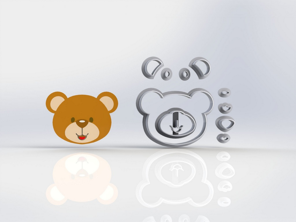 Cortador Urso Príncipe - Marinheiro Modular