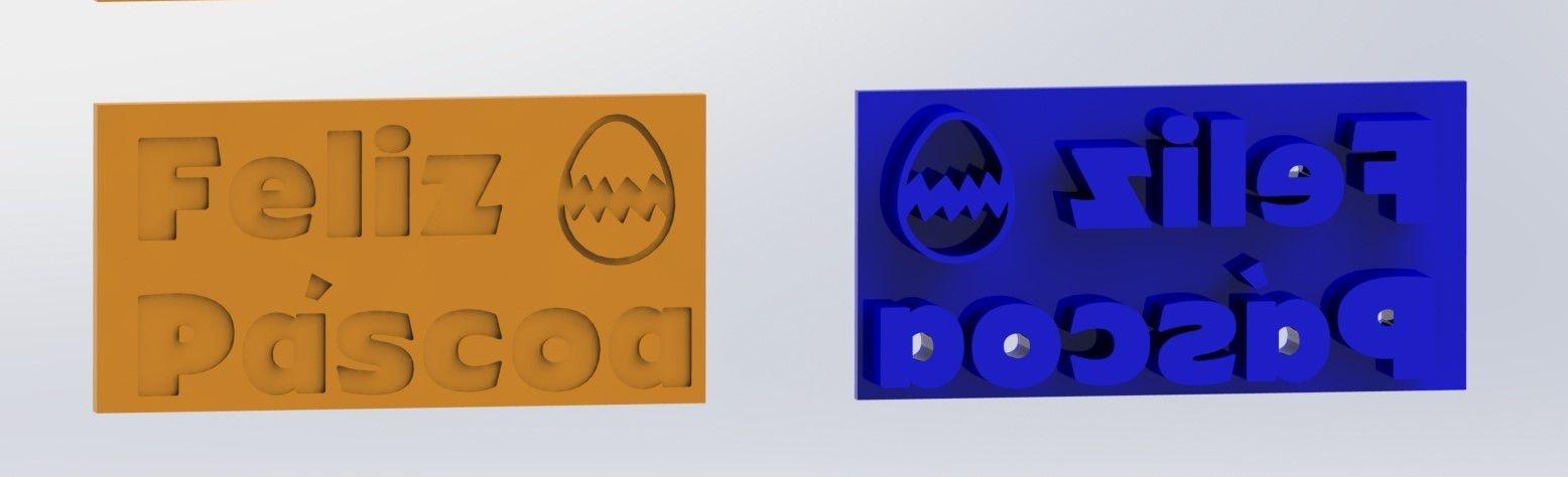 Cortadores Kit Páscoa 4 Modelos Mod 1 (1 marcador)