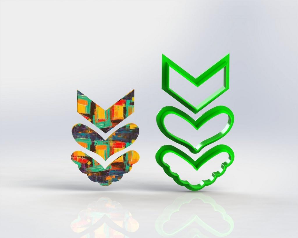 Cortadores Polymer Clay  Mod 63
