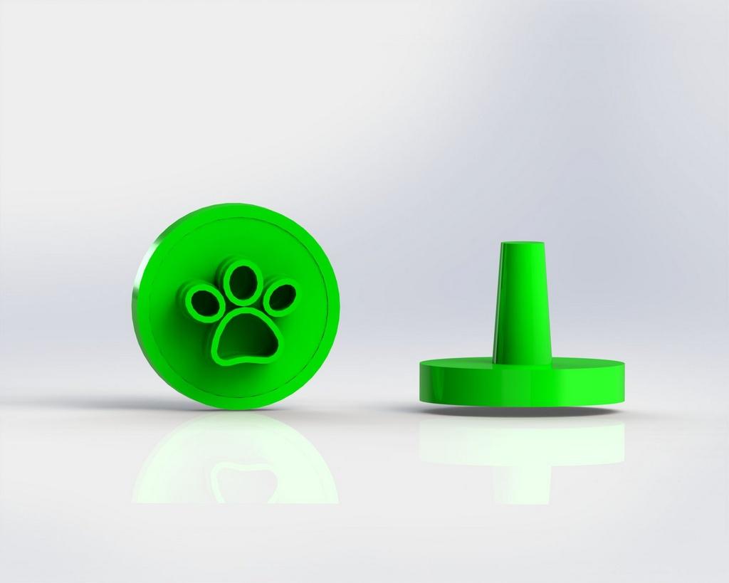Marcador Docinhos (Carimbo) - Pata Patinha (Patrulha Canina) Rei Leão