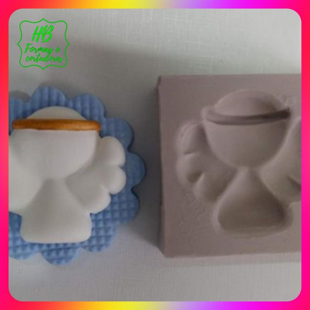 Molde silicone Anjo Pp 3 Cm (Ceia de Natal)