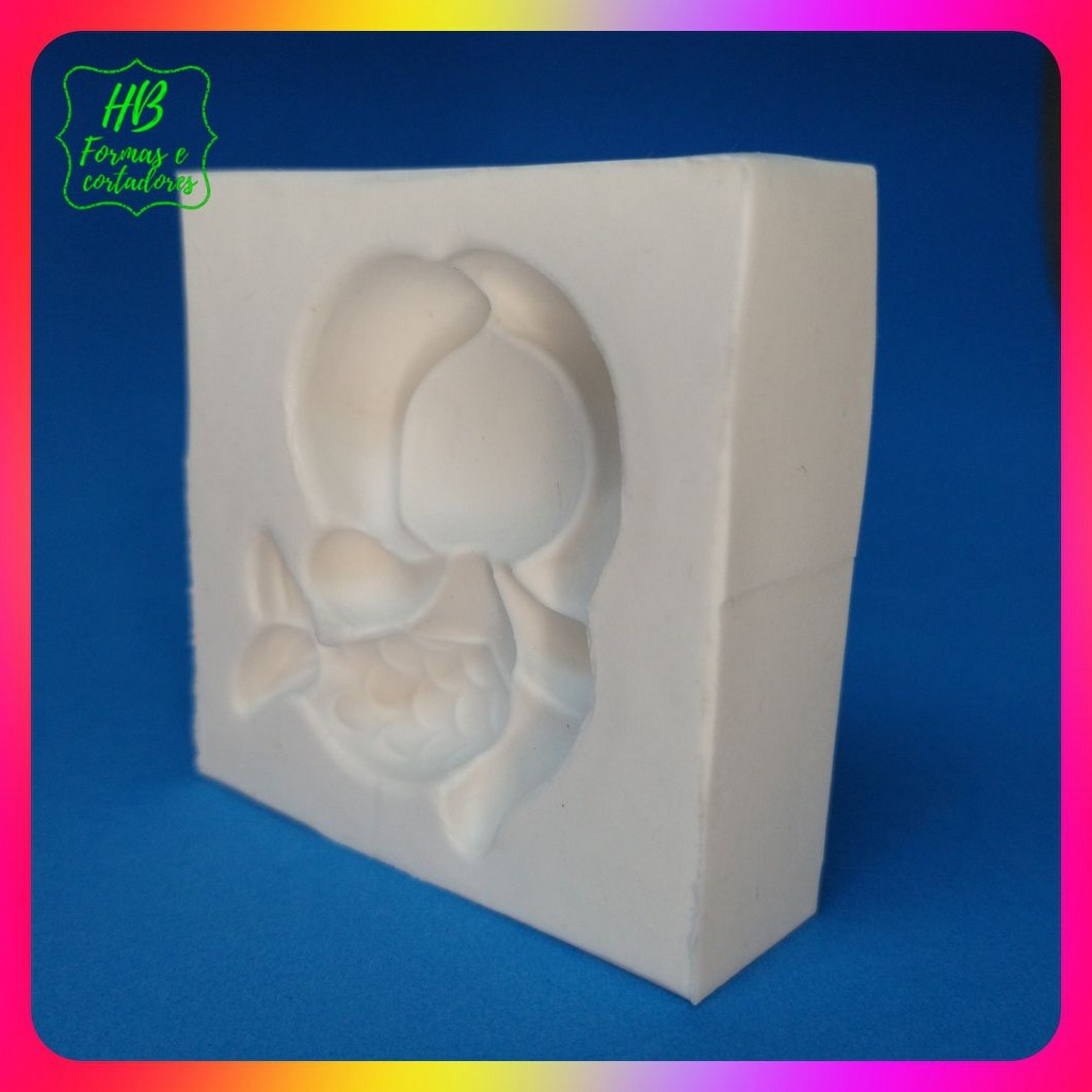 Molde silicone Ariel