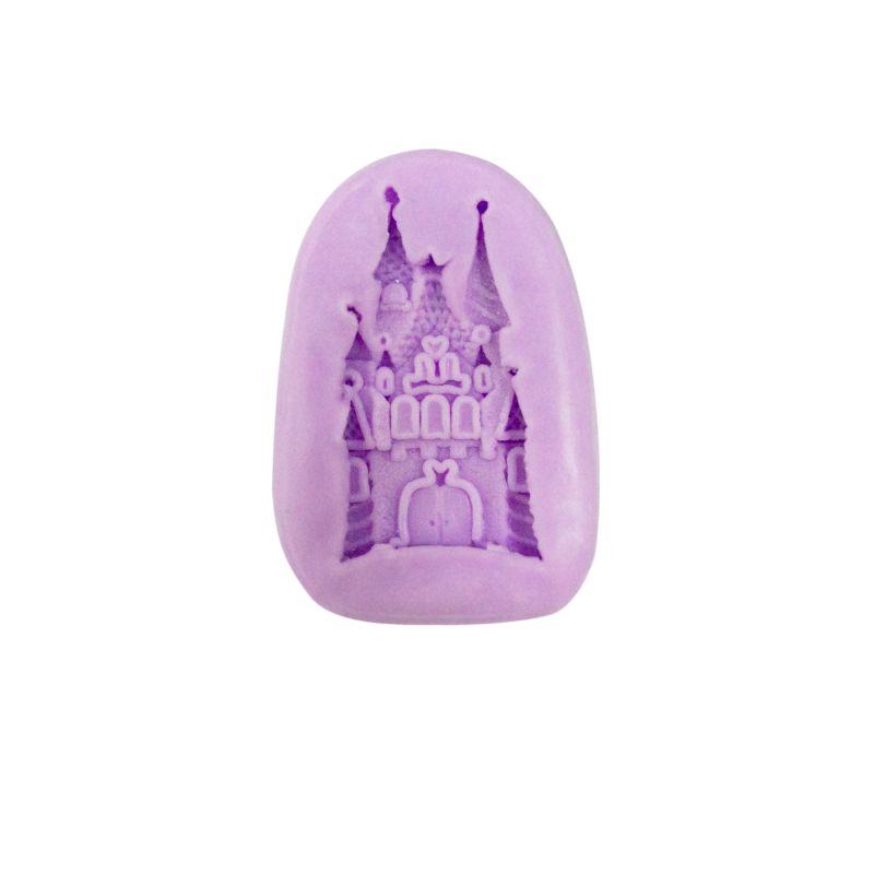 Molde Silicone Castelo Princesas Disney