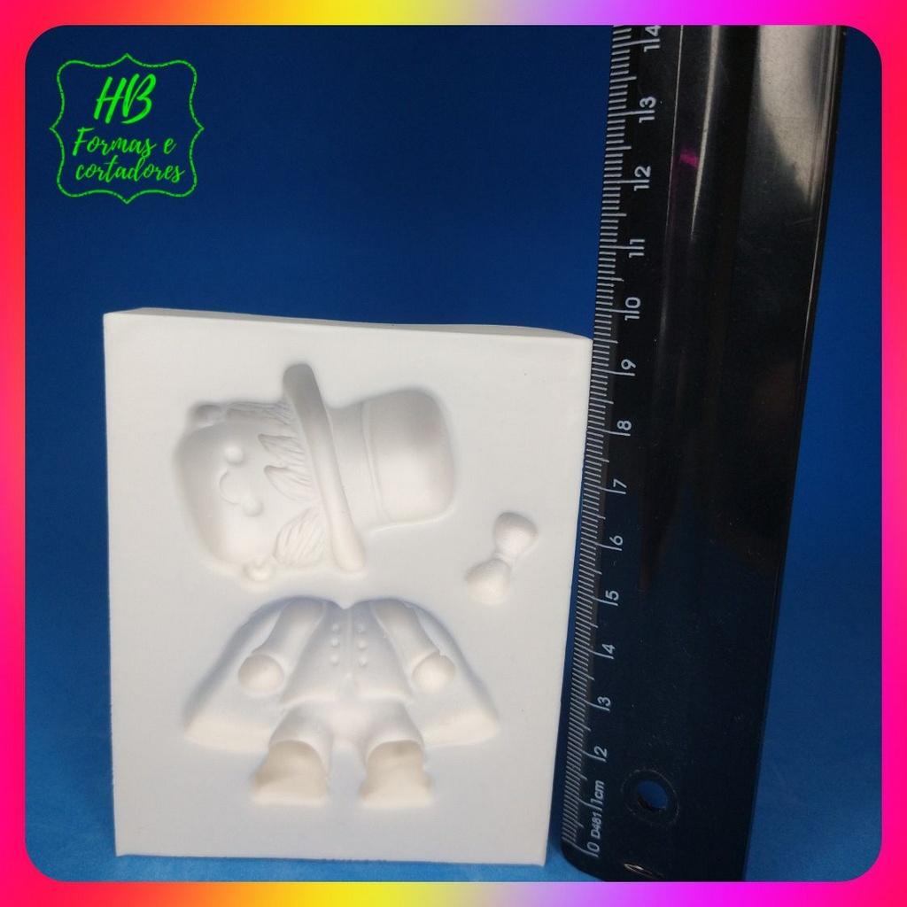 Molde silicone Mágico Circo 8 Cm