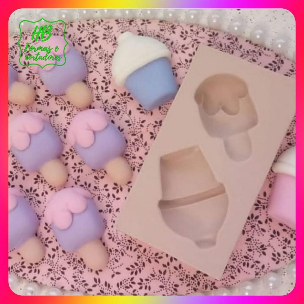 Molde silicone Picole E Copo Lol (Doces Confeitaria)