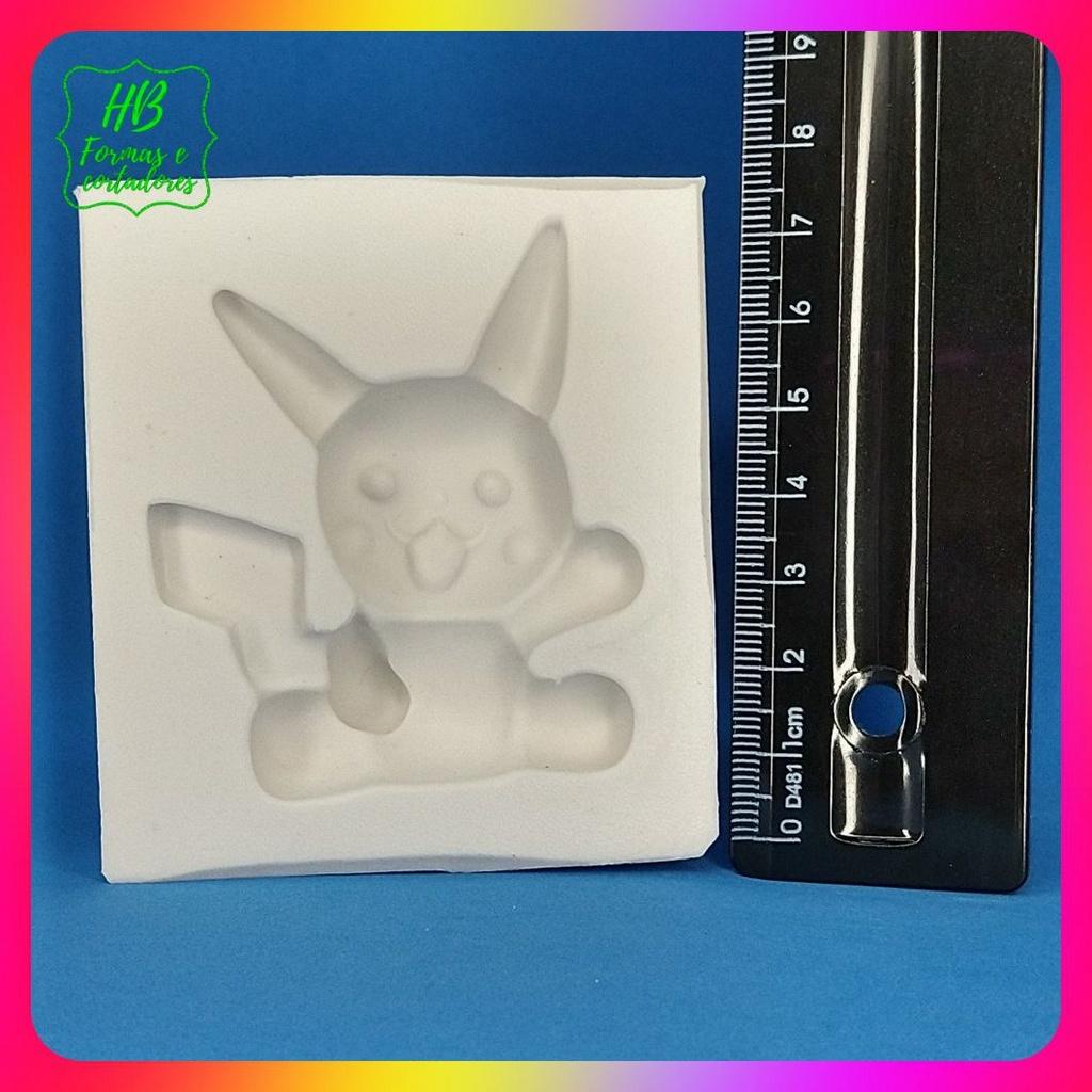 Molde silicone Pokemon Pikachu