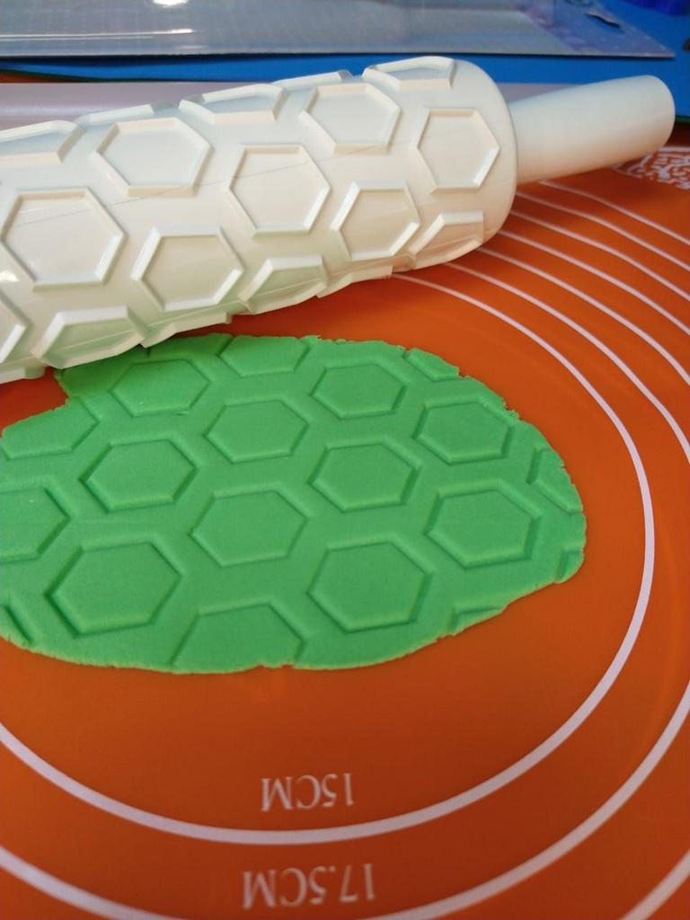 Rolo de Textura Hezágono - PROMO