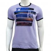 Camiseta com Estampa Litoral - Pedra D'Agua