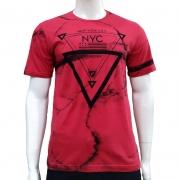 Camiseta com Estampa New York - Pedra D'Agua