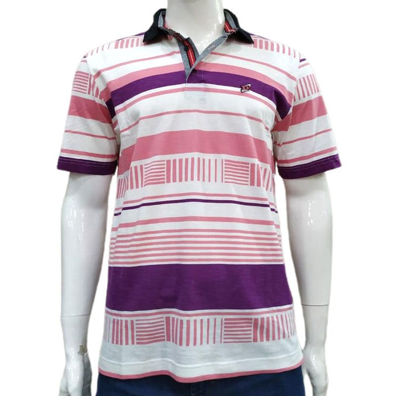Camisa Polo Listrada - Pedra D'Agua