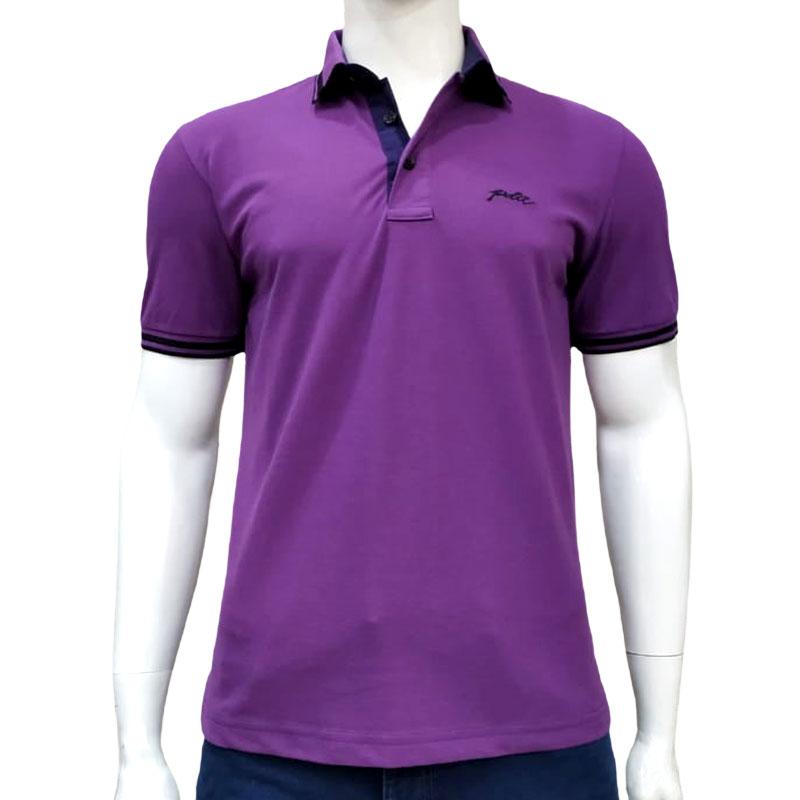 Camisa Polo Roxa - Pedra D'Agua