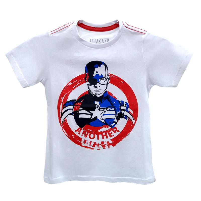 Camiseta Infantil - Capitão América